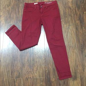Crimson skinny jeans size 30